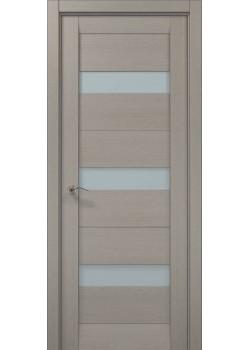 Двері ML-23 пекан світло-сірий Папа Карло