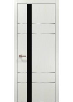 Двери PL-10 белый ясень Папа Карло