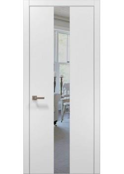 Двери PL-06 белый матовый Папа Карло
