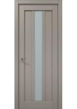 Двері ML-28 пекан світло-сірий Папа Карло