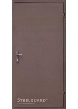 """Двери 161 RAL 8019 """"Steelguard"""""""