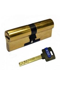 """Цилиндры """"Hard Lock"""" 80(40x40) мм ключ/ключ золото"""