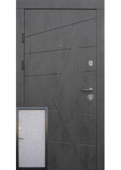 """Двері Акцент бетон темний - бетон сірий """"Qdoors"""""""