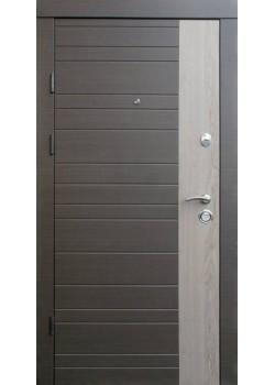 """Двери Альт-М венге серый горизонт - дуб флорида """"Qdoors"""""""