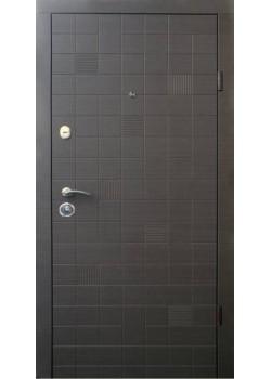 """Двері Еталон Каскад-Гладь венге сірий горизонт Термопал """"Qdoors"""""""