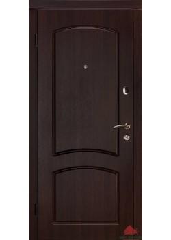 """Двери Капри-В темный орех """"Двери Белорусии (входные)"""""""