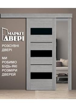 """Двери Лилу BLK раздвижные """"Новый Стиль"""""""