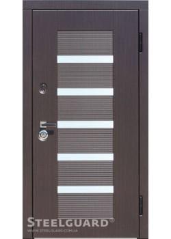 """Двері Milano Венге Темний """"Steelguard"""""""