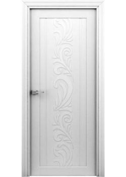 """Двері Весна ПГ біла """"Інтер'єрні Двері"""""""