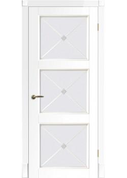 Двери Рим Венециано ПОО белая DVERIPRO