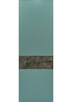 Двері прихованого монтажу фарбовані з кам'яним шпоном Danapris