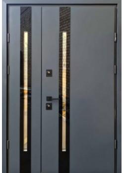 Двери Slim Z 1200 антрацит Страж