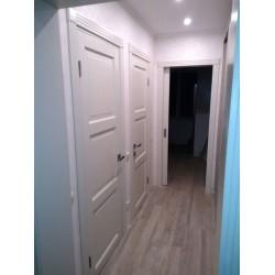 Двери Рим ПГ белая DVERIPRO