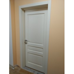 Двери 102 ПГ ясень крема