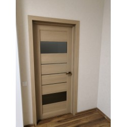 Двери Arona Белые сатин Leador