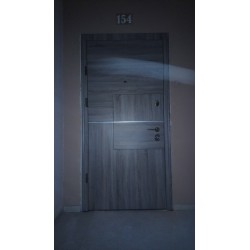 "Двери Квадро Стандарт сонома темная ""Страж"""