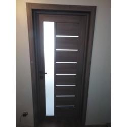 Двери Lorenza Сатин белый Leador