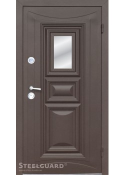 Двери Termoskin Light Glass 2 цвета Steelguard