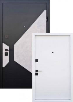"""Двери Vesta Софт блек/бетон серый софт милк """"Страж"""""""