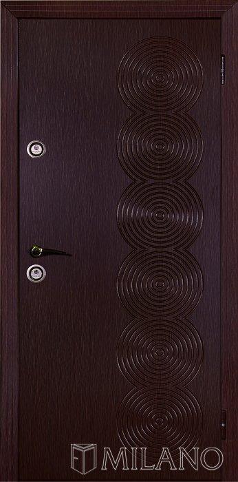 Двері Джента 100 темний горіх (Милано) - 5 450 грн від Market-Dveri Київ ba3f0fa8bd186
